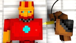 Iron Golem vs Zombie vs Villager Life 11 - Minecraft Animation
