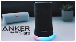 ANKER Soundcore Flare | Klangtest JBL Flip 4 | deutsch | 2018
