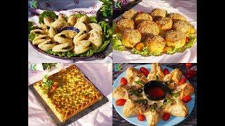 بيتزا المقلاة , بطبوط معمر, فطيرة السبانخ ورغيفات معمرين اربع من اروع وصفات المملحات