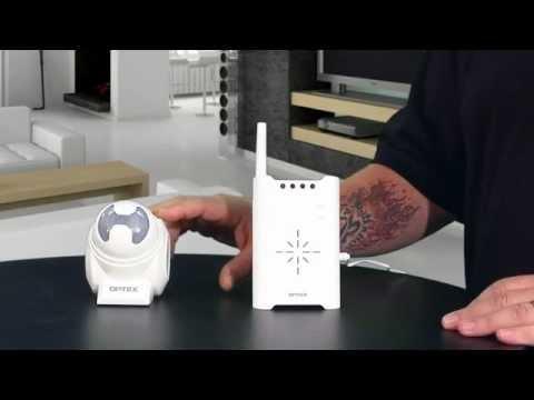 WIRELESS2000 - RCTD-20U Optex Wireless Alert Driveway Alarm