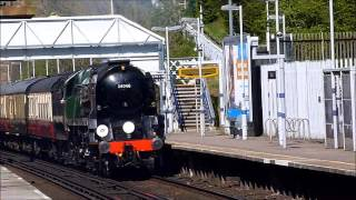 preview picture of video '34046 Braunton at Chelsfield - 9th April 2014'