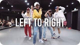 Left To Right   Marteen  Minny Park Choreography