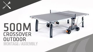 Montage table de ping-pong Cornilleau 500M Crossover outdoor