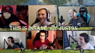 JUST9N Is Insane PUBG Twitch Rivals Shroud, Lurn, Wadu, Chocotaco, Kongphan Reacts