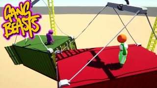 Gang Beasts - My Name Is Peppermint [Father And Son Gameplay]