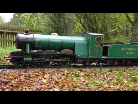 Ernest Henry Upton arrival at Watford Miniature Railway