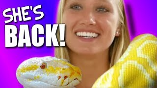 SHE's BACK!!! QUICK SNAKE UNBOXING!!! | BRIAN BARCZYK