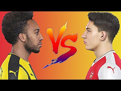 PES 2017 - Speed Battle: Pierre Emerick Aubameyang vs Hector Bellerin