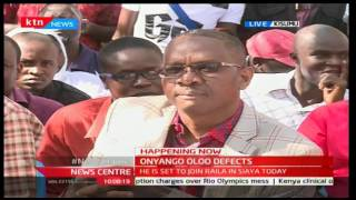 Former TNA Sec Gen Onyango Oloo officially defects to ODM