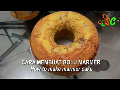 Video Resep Bolu Marmer | How to Make Marmer Cake