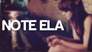 Note Ela ♫ | J Drek