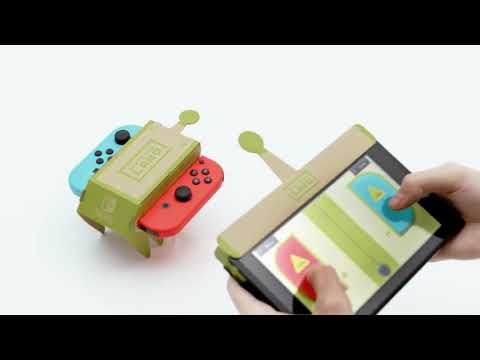 Видео № 0 из игры Nintendo Labo Customization Set [Комплект дизайн]
