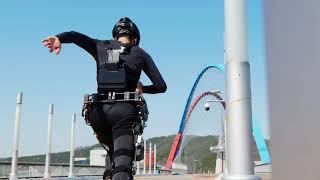 Exo-booster | Napędzany egzoszkielet dla ekstremalnej mobilności człowieka | KAIST