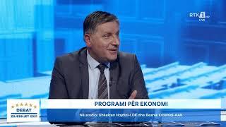 Debat - Programi për ekonomi 09.02.2021