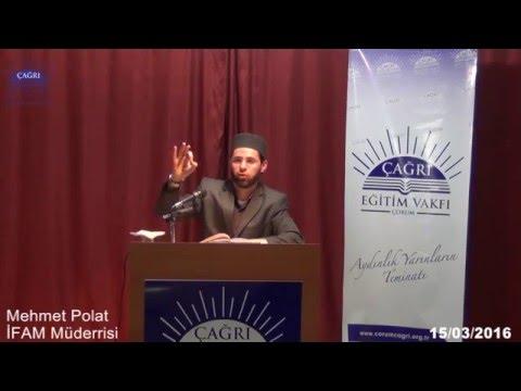 Riyazü's Salihin Dersleri - Mehmet Polat - 15 03 2016