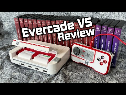 , title : 'Evercade VS Review - Doing something different.'