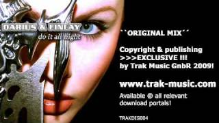 Darius & Finlay feat. Nicco - Do It All Night (Extended Mix)