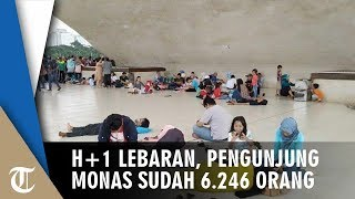 Suasana H+1 Lebaran, Pengunjung Monas Mencapai 6.246 Orang