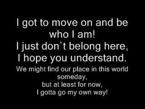I Gotta Go My Own Way By Vanessa Hudgens W/LYRICS Mp3