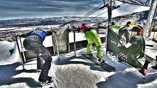 Snowboarding Tutorial: Boardercross Training Tips