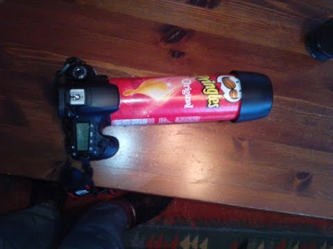 macro photography on a budget using a pringles can