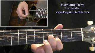 How To Play The Beatles Every Little Thing (intro only)