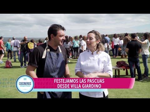 Gastronomía en Villa Giardino