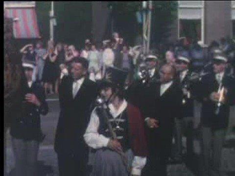 Opening gemeentehuis Wanroij 1966