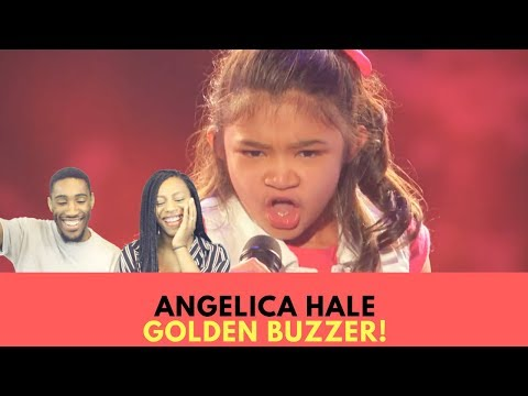 Angelica Hale: 9-Year-Old Earns Golden Buzzer From Chris Hardwick - America's Got Talent 2017 React!