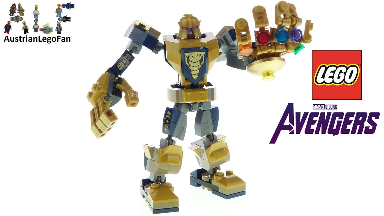 LEGO Avengers 76141 Thanos Mech - Lego Speed Build Review