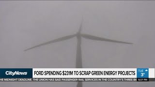 Ford spending $231M to scrap green energy projects