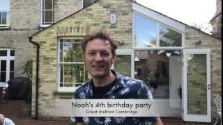 Noah's 4th birthday party