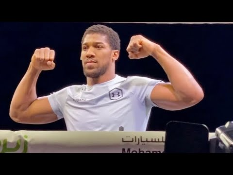 """ANTHONY JOSHUA CONFIRMS A TRILOGY VS ANDY RUIZ """"OUR STYLES GENERATE GOOD FIGHTS"""""""