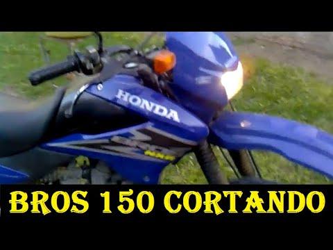 HONDA NXR BROS 150 ANO 2006 CORTANDO GIRO - Leandro #82
