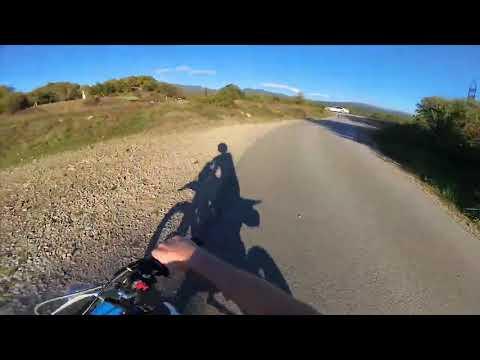 Поймал мотобат Ушел от погони ДПС на мотоцикле  Уходы 2020