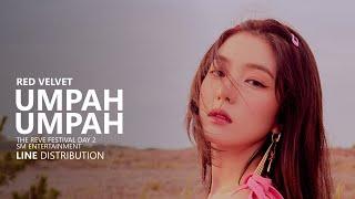 [OUTDATED] RED VELVET 레드벨벳   음파음파 UMPAH UMPAH | Line Distribution