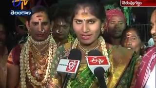 Grandly Celebrated Cheruvugattu Jadala Ramalingeswara Swamy Brahmotsavam In Nalgonda