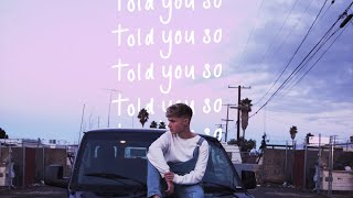 HRVY   Told You So [Official Audio]