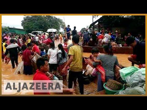 🇱🇦 Laos dam collapse: 3,000 await rescue as death toll rises | Al Jazeera English