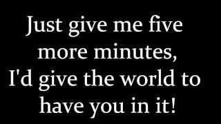 Bring You Back - Hawthorne Heights lyrics