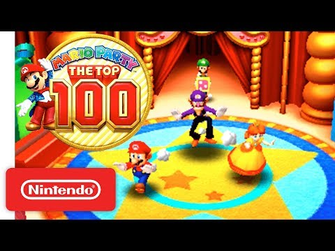 'Mario Party: The Top 100' Official Game Trailer - Nintendo 3DS thumbnail