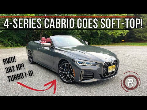 The 2022 BMW M440i Convertible Is The Quintessential 4-Seater Droptop Bimmer