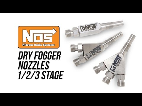 NOS Dry Fogger Nozzles 1/2/3 Stage