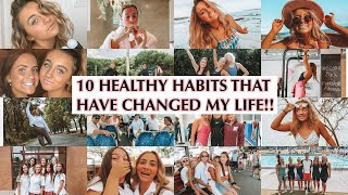 10 TIPS TO LIVING A HAPPY & HEALTHY LIFESTYLE   Teenage Girl Tips   Swimming & Sport   Friends