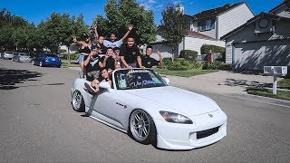 How Many People Can We Fit In The S2000?!