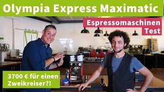 Zweikreiser-Espressomaschine für 3700€?! - Olympia Express Maximatic im Test