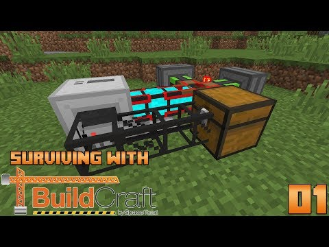 Surviving With BuildCraft 7.99 :: E01 - Getting Started!