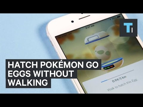 Hatch Eggs In Pokemon GO With A Turntable