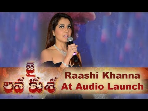 Raashi Kanna Speech At Jai Lava Kusa Audio Launch