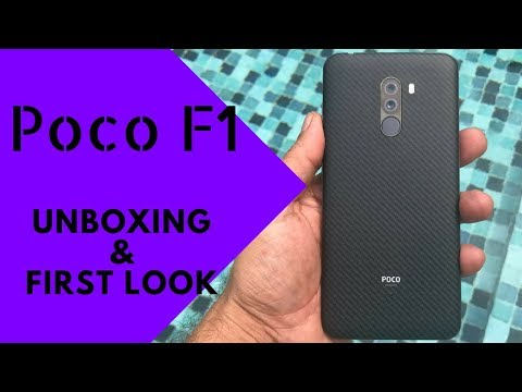 Poco F1: Unboxing & First Look